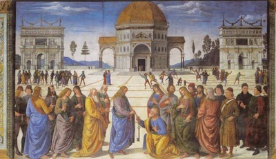 Vaticanochrist_handing_the_keys_to_stpet